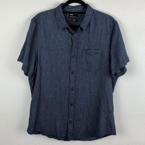 NORDSTROM Men's Large Public Opinion Casual Button